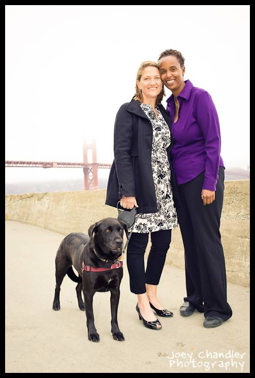 Imani and Jenny's San Francisco Portrait Photographs -1