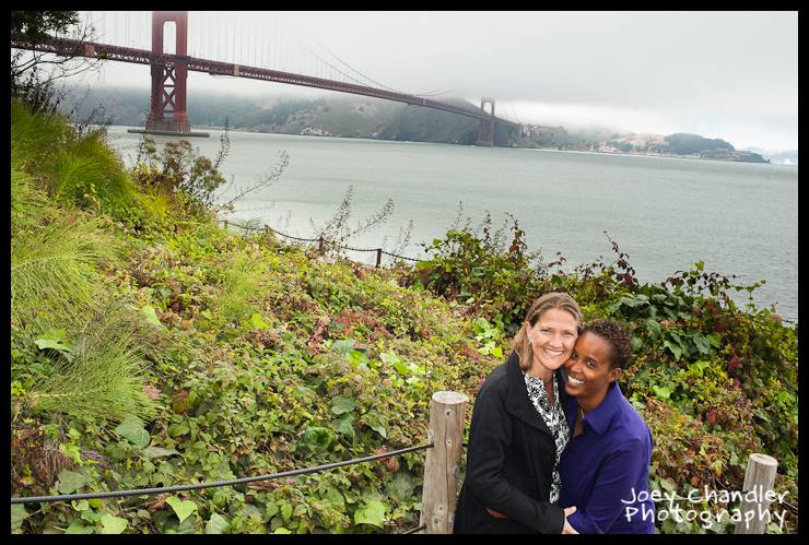 Imani and Jenny&#039;s San Francisco Portrait Photographs -4