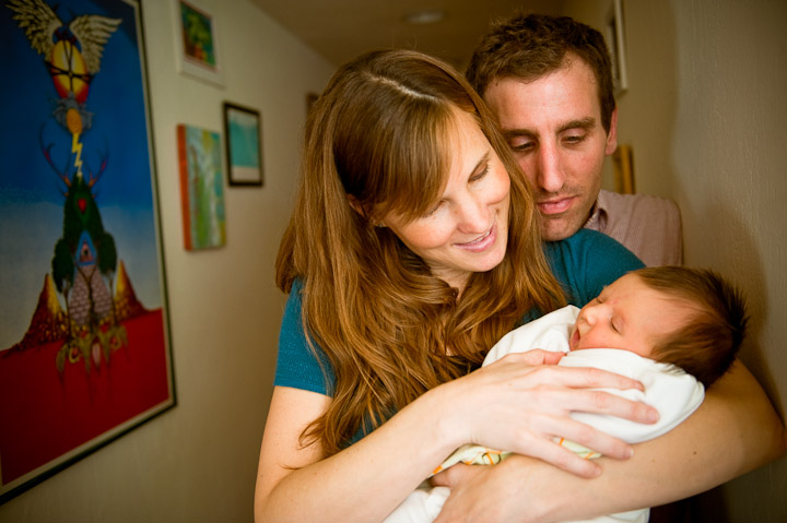 Alex, Rachel and Baby Clementine – Alameda's Newest Family