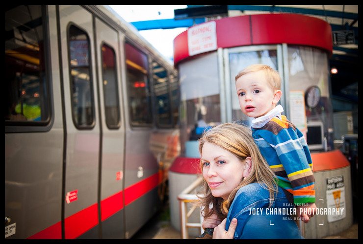 Muni Station & Playground – perfect place for family photos