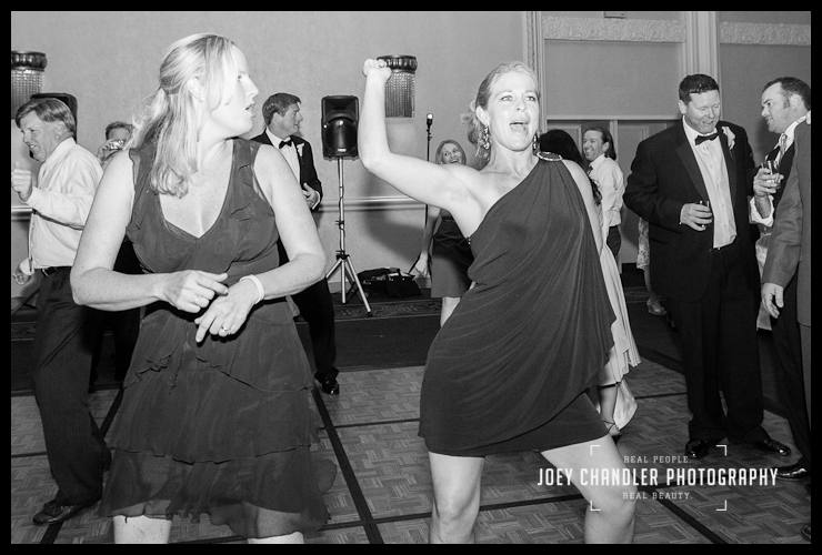 Wedding dancing at the Mark Hopkins in San Francisco