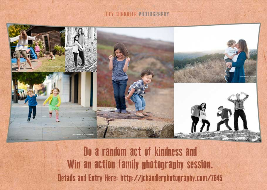 Win a Photo Session by Being Kind