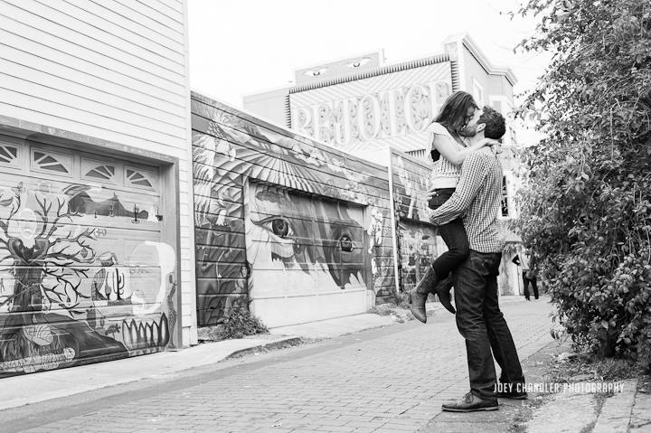 San Francisco Engagement Session in the Mission