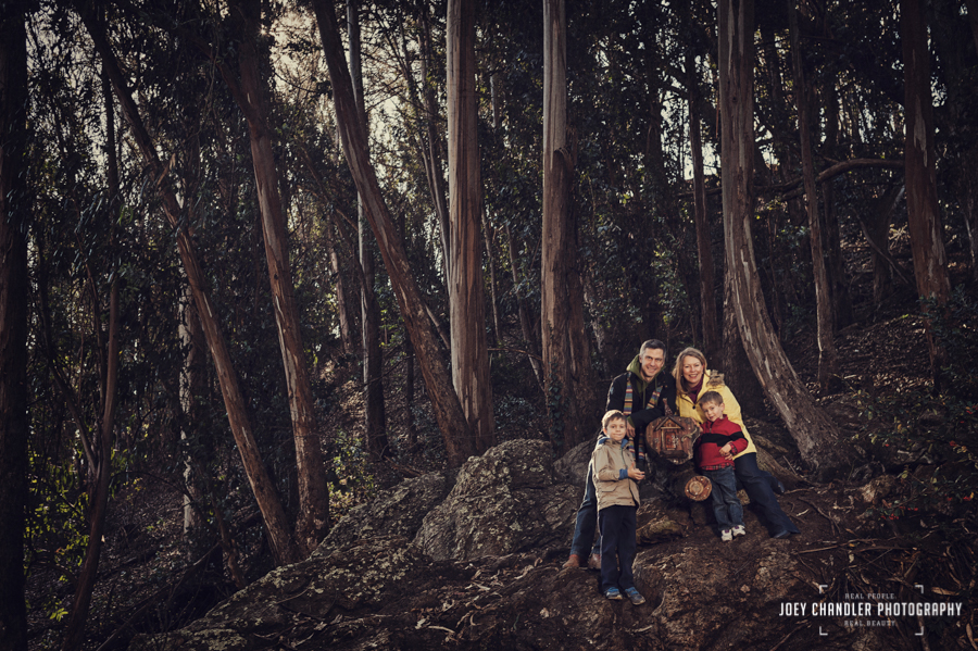 The H Family – Glen Canyon Park, San Francisco